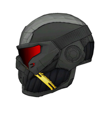 Load image into Gallery viewer, Crysis Nanosuit Helmet Foam Cosplay Pepakura File Template