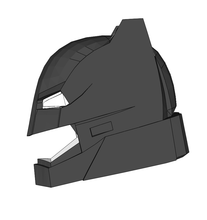 Load image into Gallery viewer, Batman DOJ Helmet FOAM Cosplay Pepakura File Template