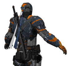 Load image into Gallery viewer, Deathstroke Arkham Origins Armor Cosplay Foam Pepakura File Templates