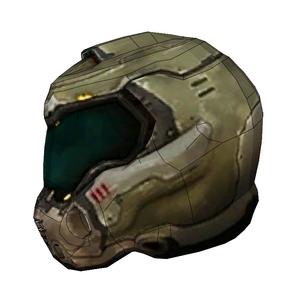 Doom Slayer Praetor Helmet Foam Cosplay Pepakura File Template - Doom (2016)