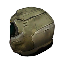 Load image into Gallery viewer, Doom Slayer Praetor Helmet Foam Cosplay Pepakura File Template - Doom (2016)