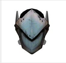 Load image into Gallery viewer, Genji Helmet FOAM Cosplay Pepakura File Template - Overwatch