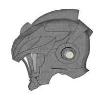 Load image into Gallery viewer, Goblin Slayer Helmet Cosplay Foam Pepakura File Template