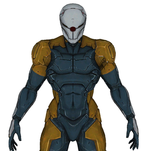 Cyborg Ninja Gray Fox Full Foam Cosplay Pepakura File Template - Metal Gear Solid