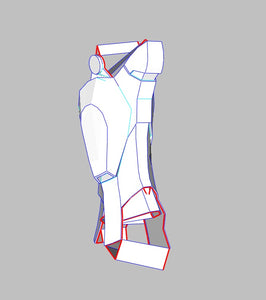 Iron Man Mark 4 Costume Foam Pepakura file Templates