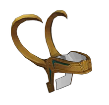 Load image into Gallery viewer, Loki Helmet Cosplay Foam Pepakura File Template
