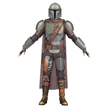 Load image into Gallery viewer, The Mandalorian Cosplay Beskar Armor Foam Pepakura File Templates