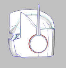 Load image into Gallery viewer, Optimus Prime - G1 Transformers Helmet Foam Cosplay Pepakura File