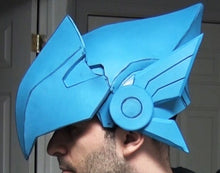 Load image into Gallery viewer, Pharah Helmet -Overwatch Costume FOAM Pepakura File