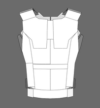 Load image into Gallery viewer, Punisher Cosplay Vest Foam Armor Pepakura File Template (Netflix Version)