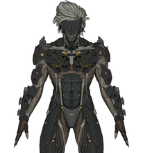 Load image into Gallery viewer, Raiden Full Foam Cosplay Pepakura File Template - Metal Gear Rising