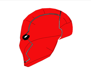 Red Hood Rebirth Cosplay Helmet Foam Pepakura File Template