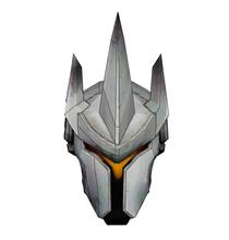 Load image into Gallery viewer, Reinhardt Helmet -Overwatch Costume FOAM Pepakura File