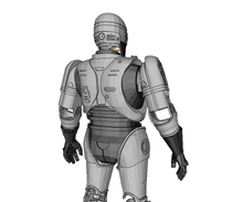 Load image into Gallery viewer, RoboCop (1987) Cosplay Foam Pepakura File Templates