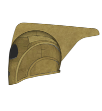 Load image into Gallery viewer, Rocketeer Helmet Cosplay FOAM Pepakura File Template