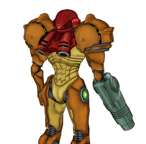 Metroid Samus Armor Cosplay FOAM Pepakura File Templates