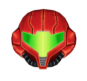 Metroid Samus Helmet Cosplay FOAM Pepakura File Template