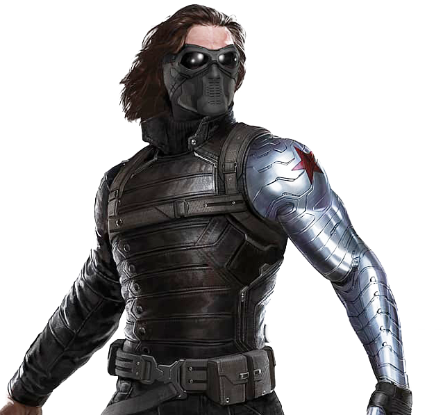 Winter Soldier Mask  + Arm Cosplay Foam Pepakura File Templates