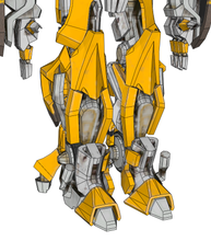 Load image into Gallery viewer, Bumblebee Transformers Movie Cosplay Full Foam Pepakura File Templates