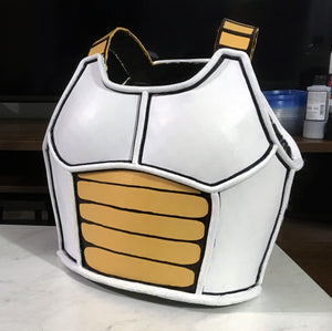 Dragonball Z / Super Saiyan Cosplay Armor - Foam Pepakura Template File with Tutorial Video!