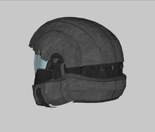 Load image into Gallery viewer, Halo 3 ODST Helmet Foam Cosplay Pepakura File Template