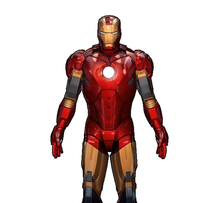 Load image into Gallery viewer, Iron Man Mark 4 Costume Foam Pepakura file Templates