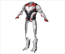 Load image into Gallery viewer, Avengers Endgame Quantum Suit FOAM Pepakura File Templates