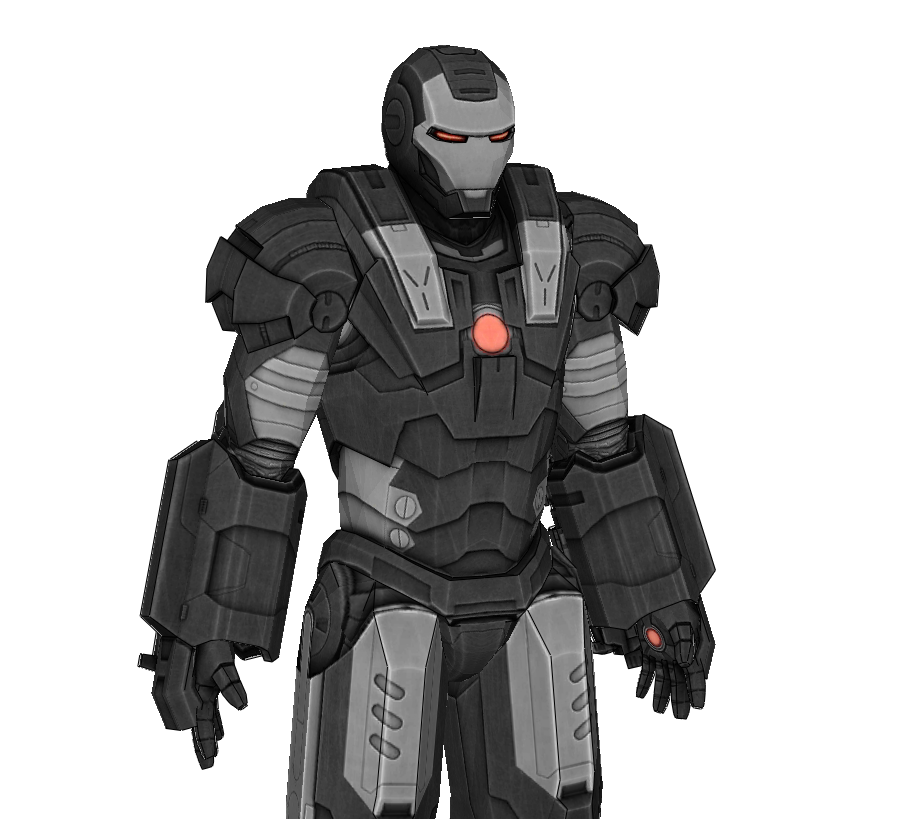 War Machine Mark 1 Armor Foam Cosplay Pepakura File Templates