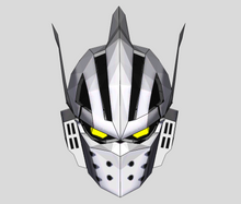 Load image into Gallery viewer, Tenya Iida Ingenium Cosplay Foam Helmet Pepakura File Template - (My Hero Academia)