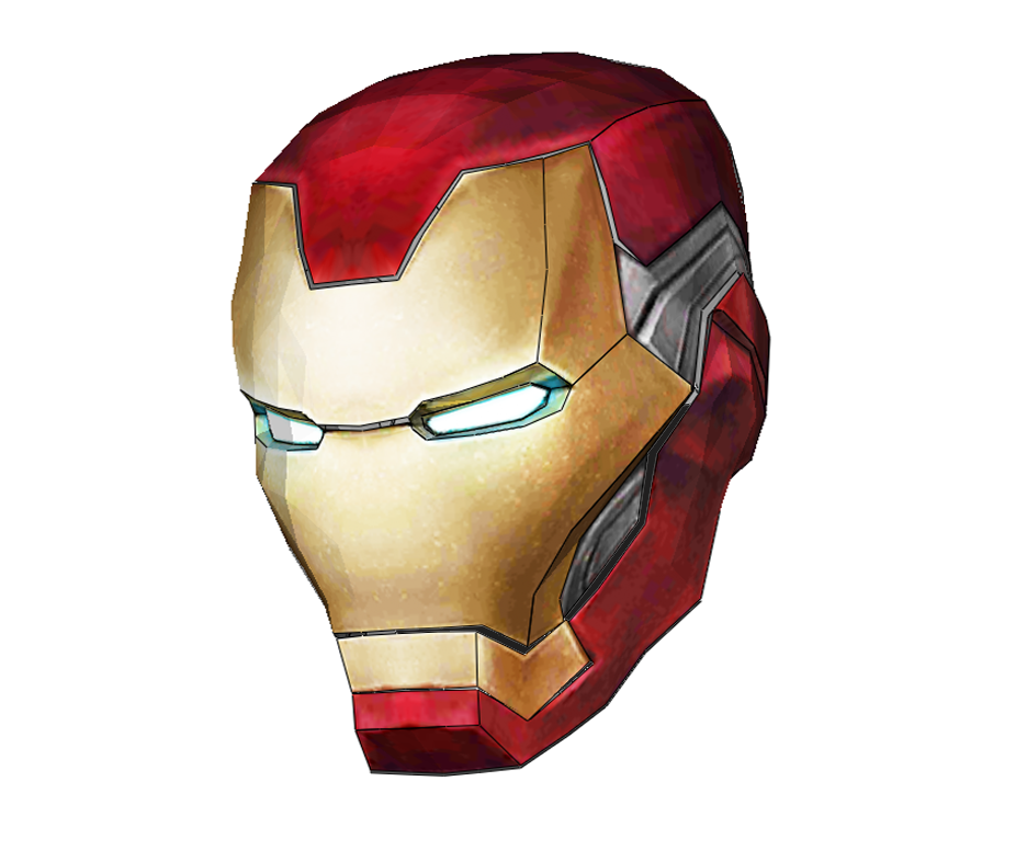 Iron Man Mark 85 Cosplay Helmet Foam Pepakura File Template Avengers: Endgame