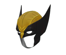 Load image into Gallery viewer, X-Men - Wolverine Cosplay Mask FOAM Pepakura File Template