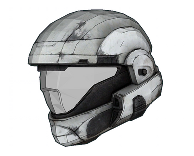 Halo Reach ODST Helmet FOAM Cosplay Pepakura File Template