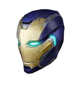 Pepper Potts Rescue Cosplay Helmet Foam Pepakura File Template - Avengers: Endgame