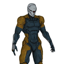 Load image into Gallery viewer, Cyborg Ninja Gray Fox Full Foam Cosplay Pepakura File Template - Metal Gear Solid