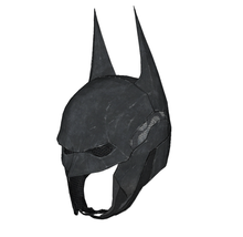 Load image into Gallery viewer, Batman Arkham Knight Cowl Cosplay Foam Pepakura File Template