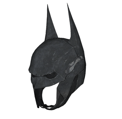 Batman Arkham Knight Cowl Cosplay Foam Pepakura File Template