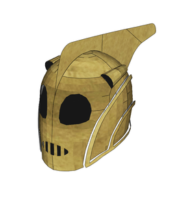 Rocketeer Helmet Cosplay FOAM Pepakura File Template