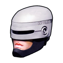 Load image into Gallery viewer, RoboCop (1987) Helmet Cosplay Foam Pepakura File Template