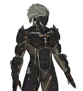 Raiden Full Foam Cosplay Pepakura File Template - Metal Gear Rising
