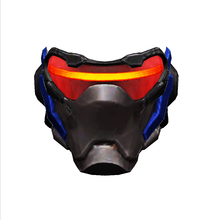 Load image into Gallery viewer, Soldier 76 Overwatch Cosplay Foam Helmet Pepakura File Template