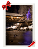 Vail Covered Bridge (Holiday Card)