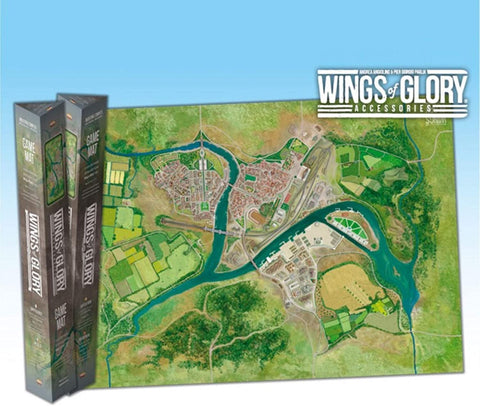 Wings of Glory: Industrial Complex Game Mat
