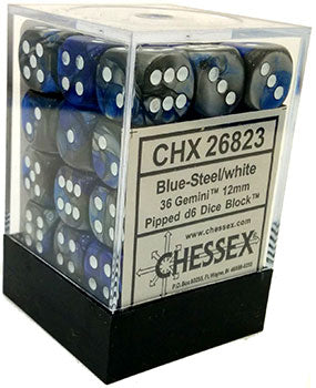 Chessex Dice: 12mm D6 36 Count