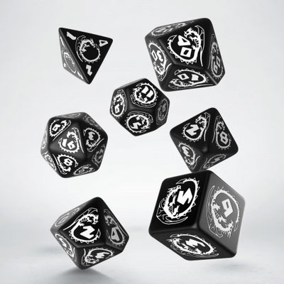 BLACK and WHITE DRAGONS DICE (