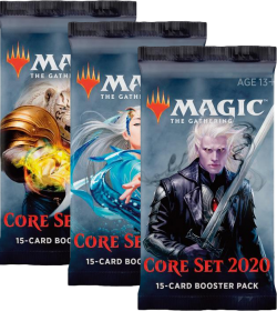 Magic the Gathering: Core Set 2020 Booster Packs