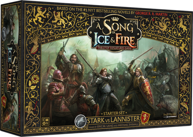 A Song of Ice & Fire: Tabletop Miniatures Game - Stark vs Lannister Starter