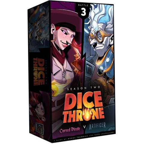 Dice Throne: Season 2 - Cursed Pirate Vs Artificer