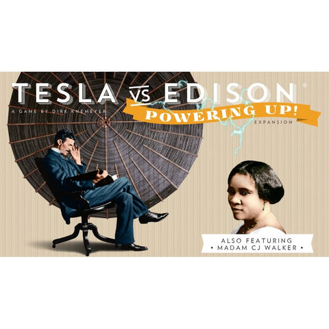 Tesla vs Edison: Power Up!