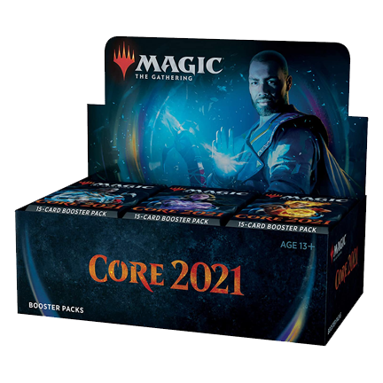 (Preorder) Magic the Gathering: Core 2021, Prerelease with Buy a Box Promo