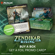 (Preorder) Magic the Gathering: Zendikar Rising Draft Booster, Prerelease with Buy a Box Promo